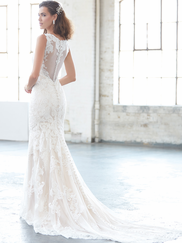Madison James MJ305 V-neck Wedding Dress