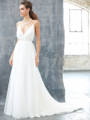 Madison James MJ313 V-neck Wedding Dress