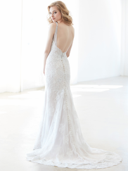 Madison James MJ314 V-neck Wedding Dress
