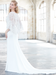 Madison James MJ315 V-neck Wedding Dress