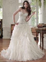 Maggie Sottero Barcelona Sweetheart Beaded Bridal Gown