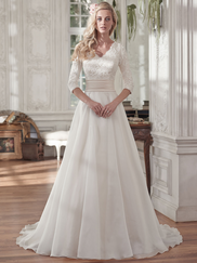 Maggie Sottero Brentleigh V-neck Bridal Gown