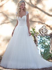 Maggie Sottero Mindi Sweetheart Beaded Lace Bridal Gown