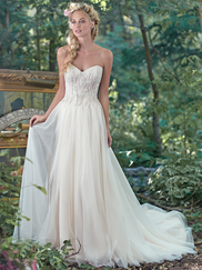 Maggie Sottero Sabina Sweetheart Beaded Bridal Gown