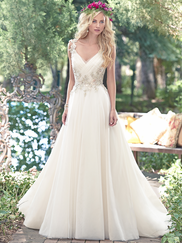 Maggie Sottero Shelby V-neck Bridal Gown