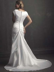 Modest Wedding Gown Allure M430