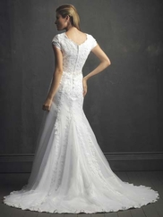 Modest Wedding Gown Allure M431