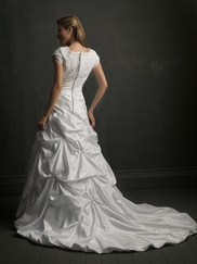 Modest Wedding Gown Allure M433
