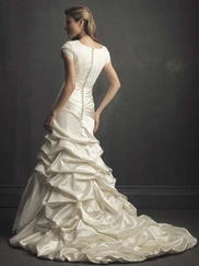 Modest Wedding Gown Allure M435