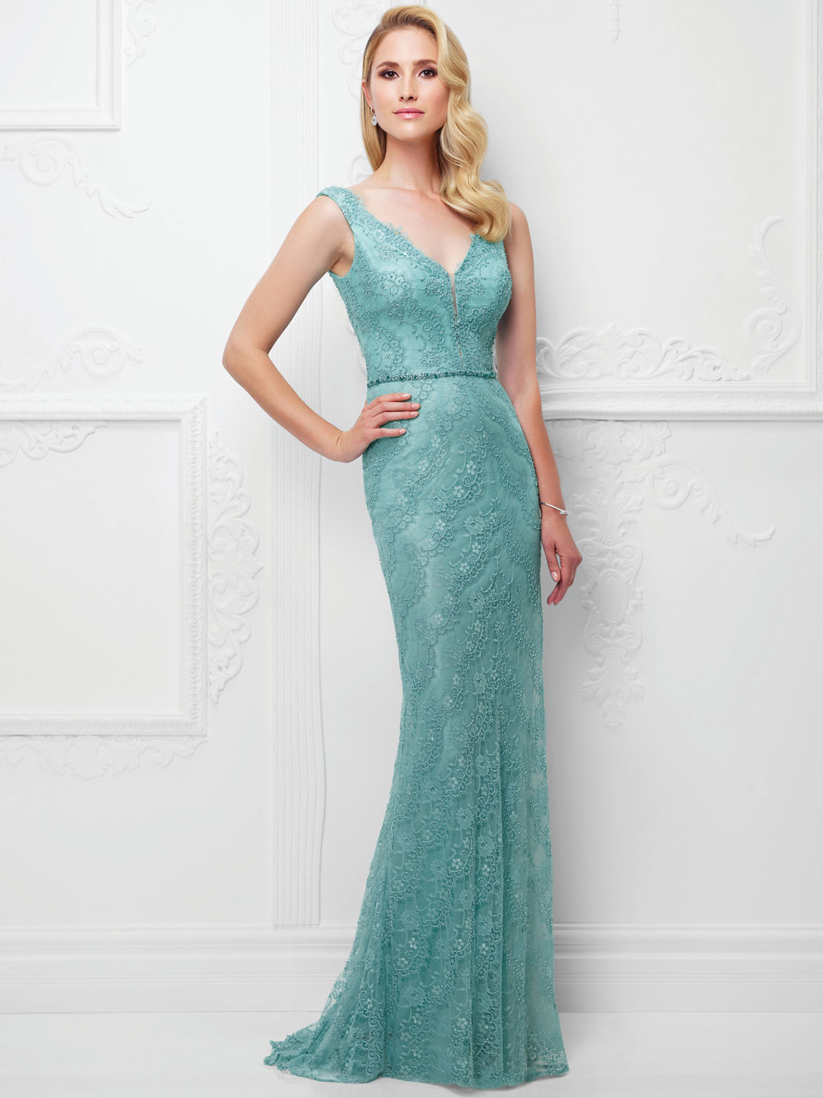 Montage 117915 Fit And Flare Mother Of The Bride Dress ...