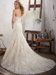 Mori Lee 8102 Sweetheart Wedding Dress Mackinley