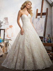 Mori Lee 8108 Sweetheart Wedding Dress Magdalena