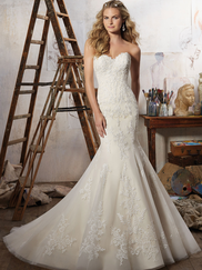 Mori Lee 8109 Sweetheart Wedding Dress Magnolia