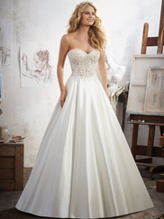 Mori Lee 8114 Sweetheart Wedding Dress Mara