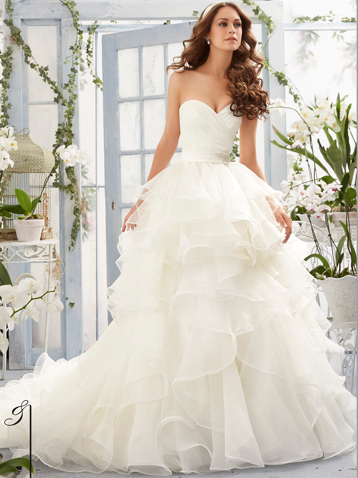 Tiered Wedding Dresses Mori Lee – Dresses for Woman