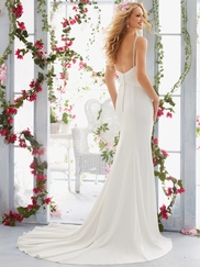 Mori Lee Voyage 6815 Sweetheart Draped Wedding Dress