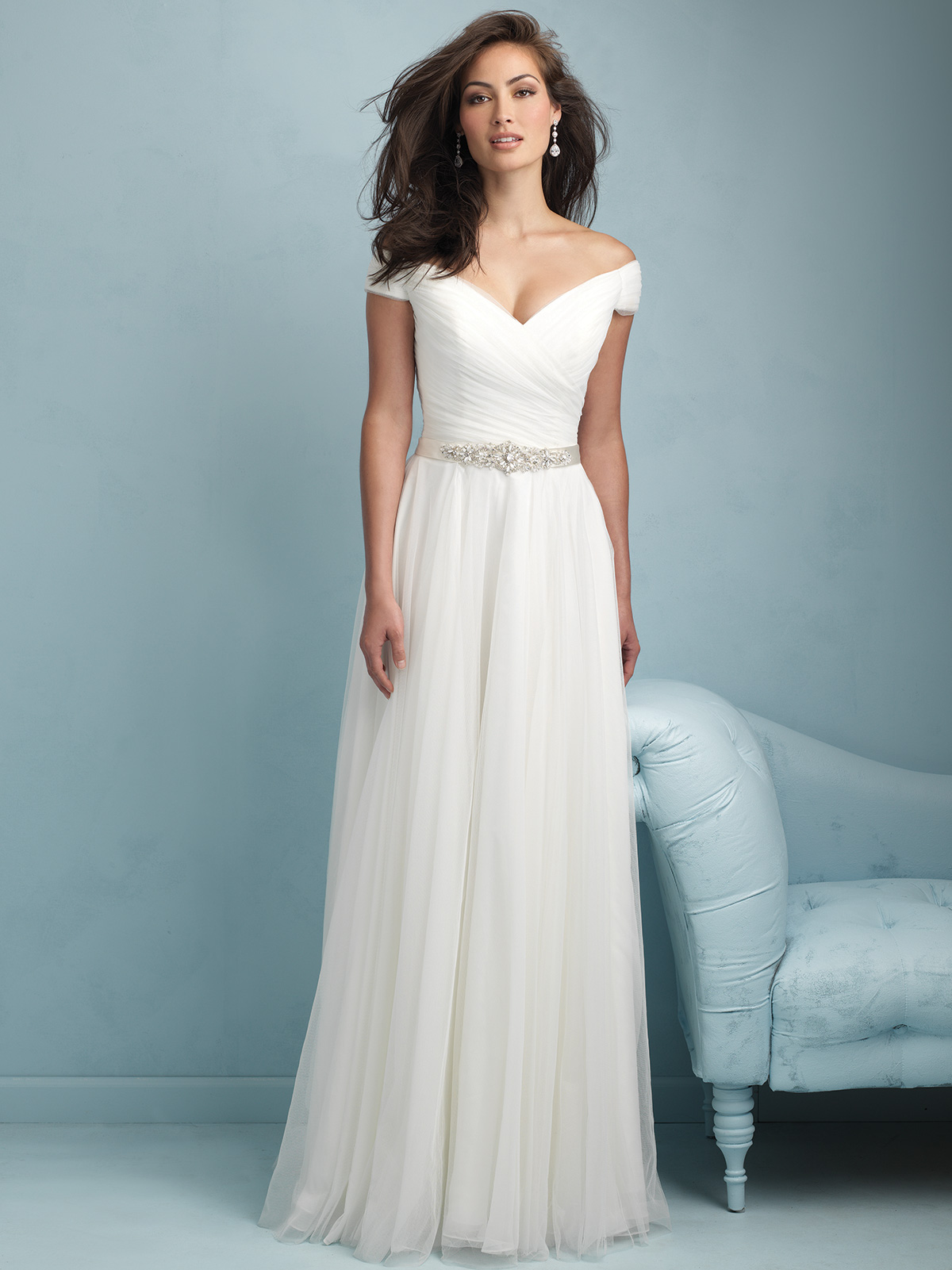 Allure Bridal Dress 9211: DimitraDesigns.com
