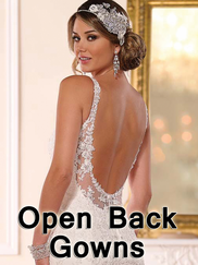 Open Back Wedding Gowns