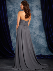Sapphire Alfred Angelo 8111L Sweetheart Bridesmaids Dress