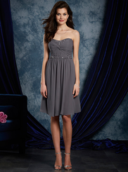 Sapphire Alfred Angelo 8111S Sweetheart Bridesmaids Dress