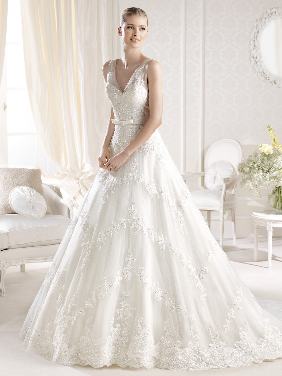 Super fashion dress la sposa wedding dresses for La sposa wedding dress