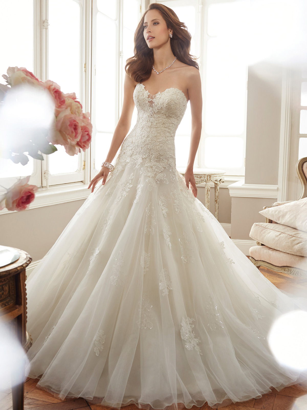 Sophia Tolli Y11715 Sweetheart Fit And Flare Deon Bridal Dress ...