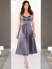 Sorella Vita 8652 Sweetheart Satin Bridesmaid Dress