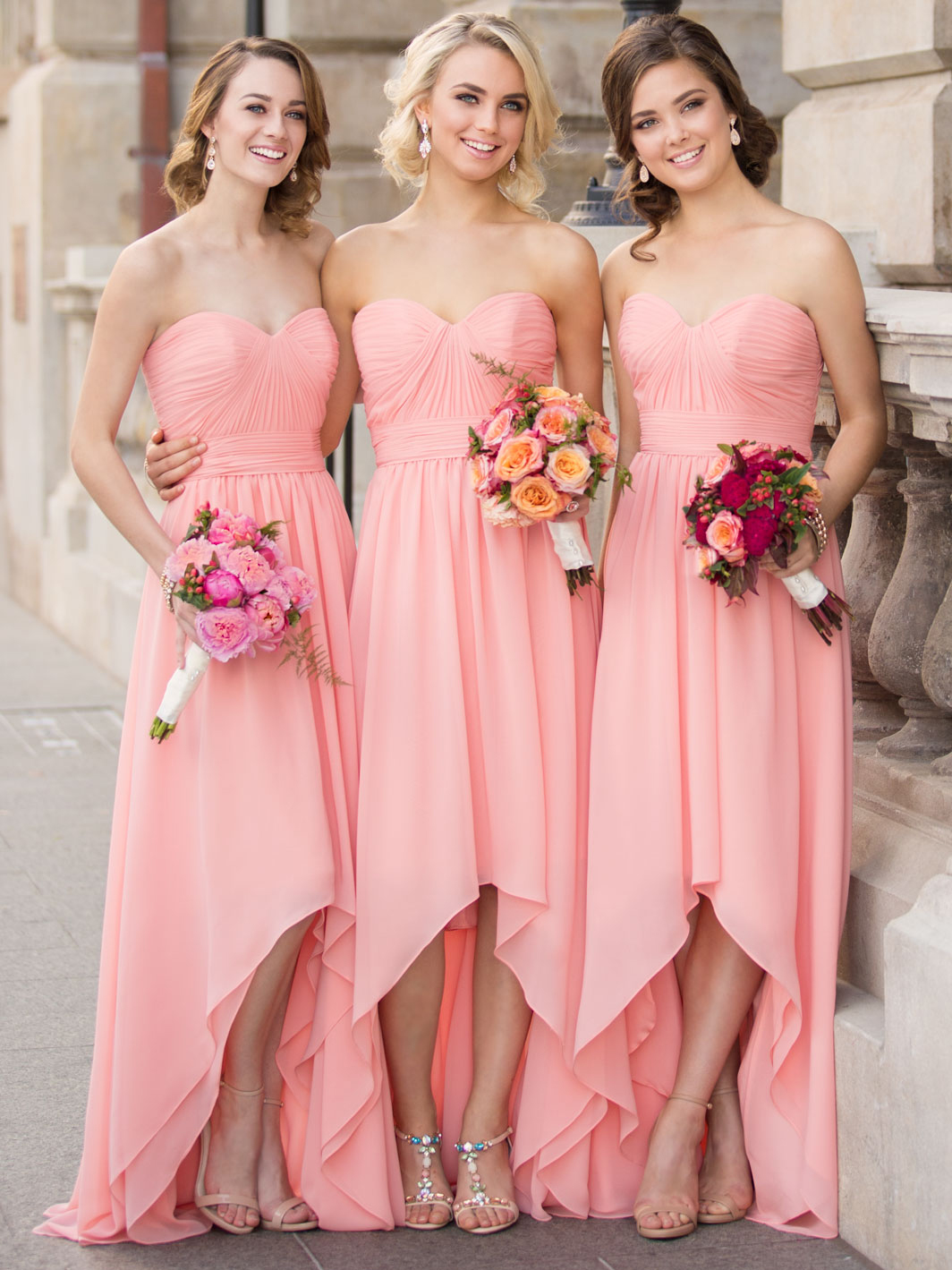 Sorella vita 8826 chiffon high low bridesmaid dressdimitradesigns chiffon high low sorella vita bridesmaid dress 8826 ombrellifo Images