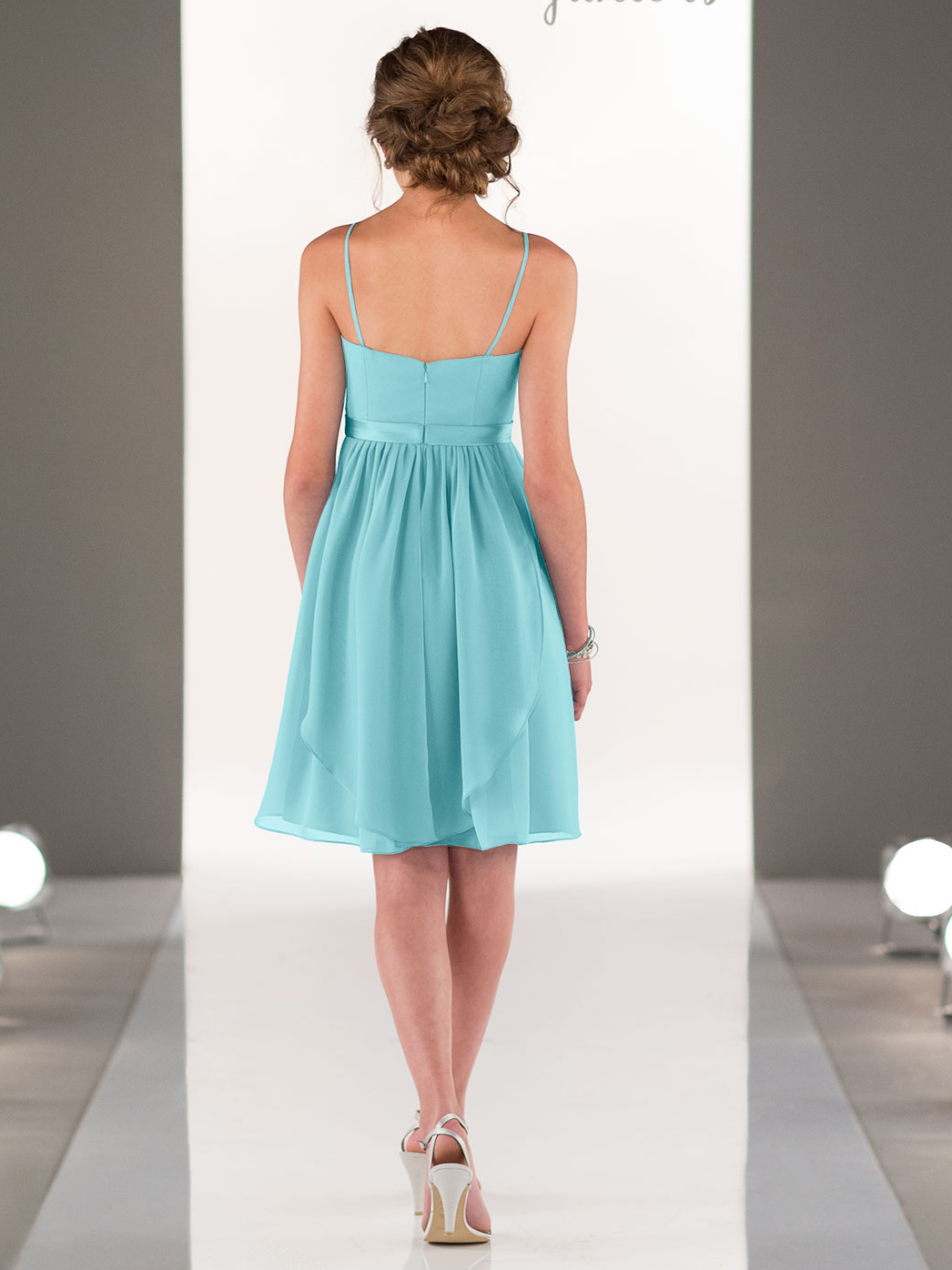 Sorella Vita J4009 Chiffon Short Juniors Bridesmaid Dress ...
