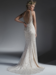 Sottero and Midgley Open Back Bridal Gown Maui