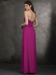 Strapless A-Line Allure Bridesmaids Dress 1403