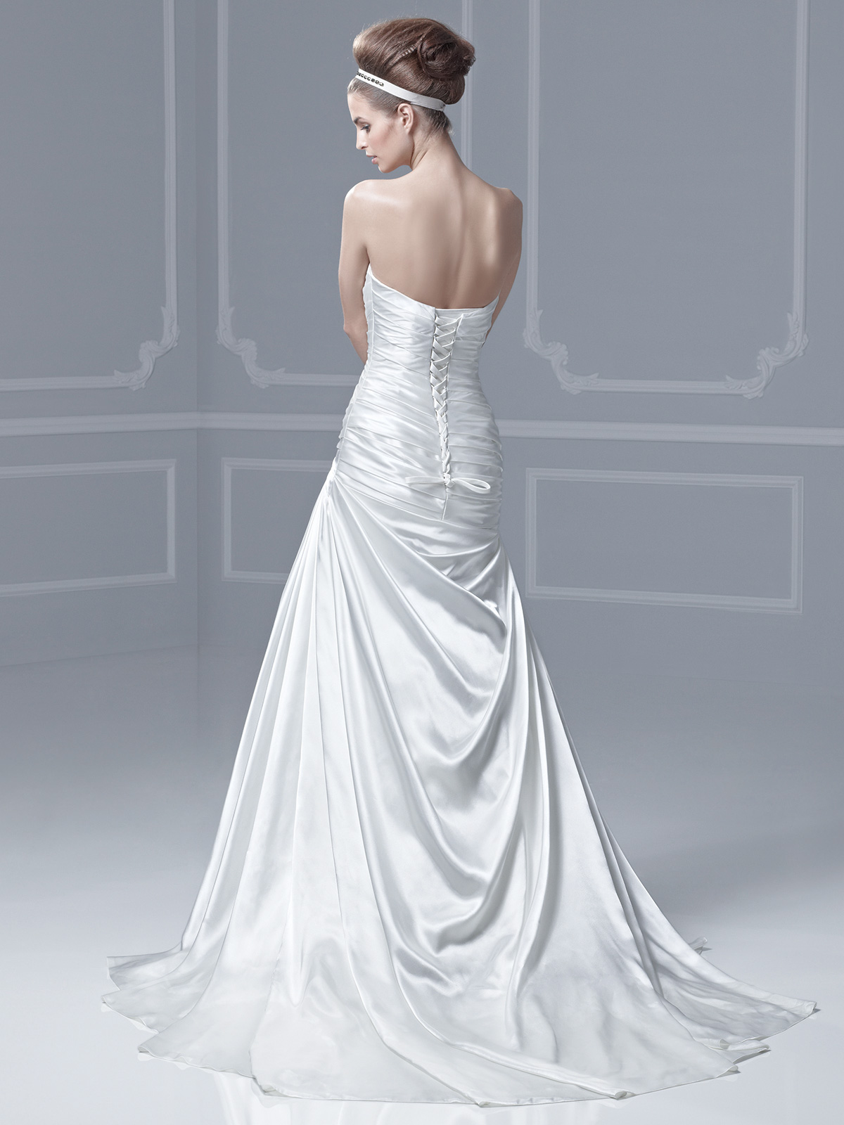Royal Blue Accented Wedding Dress Viewing Gallery
