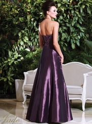 Strapless Laced And Pleated Mother Of The Bride Dress Jade Couture K168012