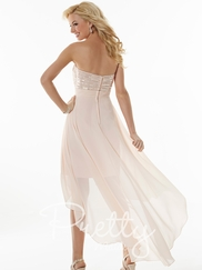 Strapless Sequin Pretty Maids Bridesmaids Dress 22611