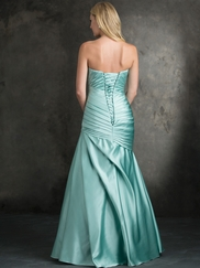 Strapless Sweetheart Allure Bridesmaids Dress 1406