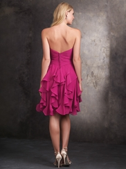 Strapless Sweetheart Allure Bridesmaids Dress 1418