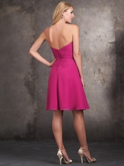 Strapless Sweetheart Allure Bridesmaids Dress 1428