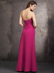 Strapless Sweetheart Allure Bridesmaids Long Dress 1429