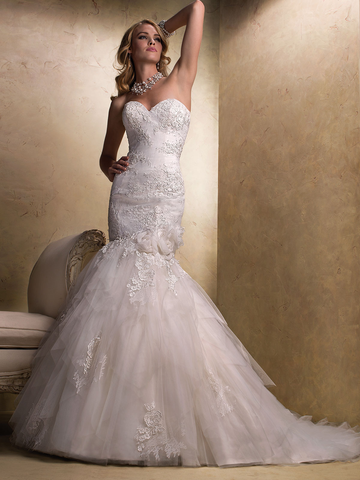 Maggie Sottero Lace Wedding Gown 84
