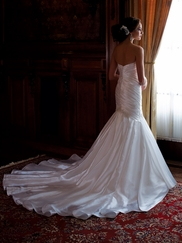Strapless Sweetheart Wedding Gown Zora David Tutera For Mon Cheri 113229
