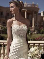 Sweetheart Beaded Bridal Gown Casablanca 2104