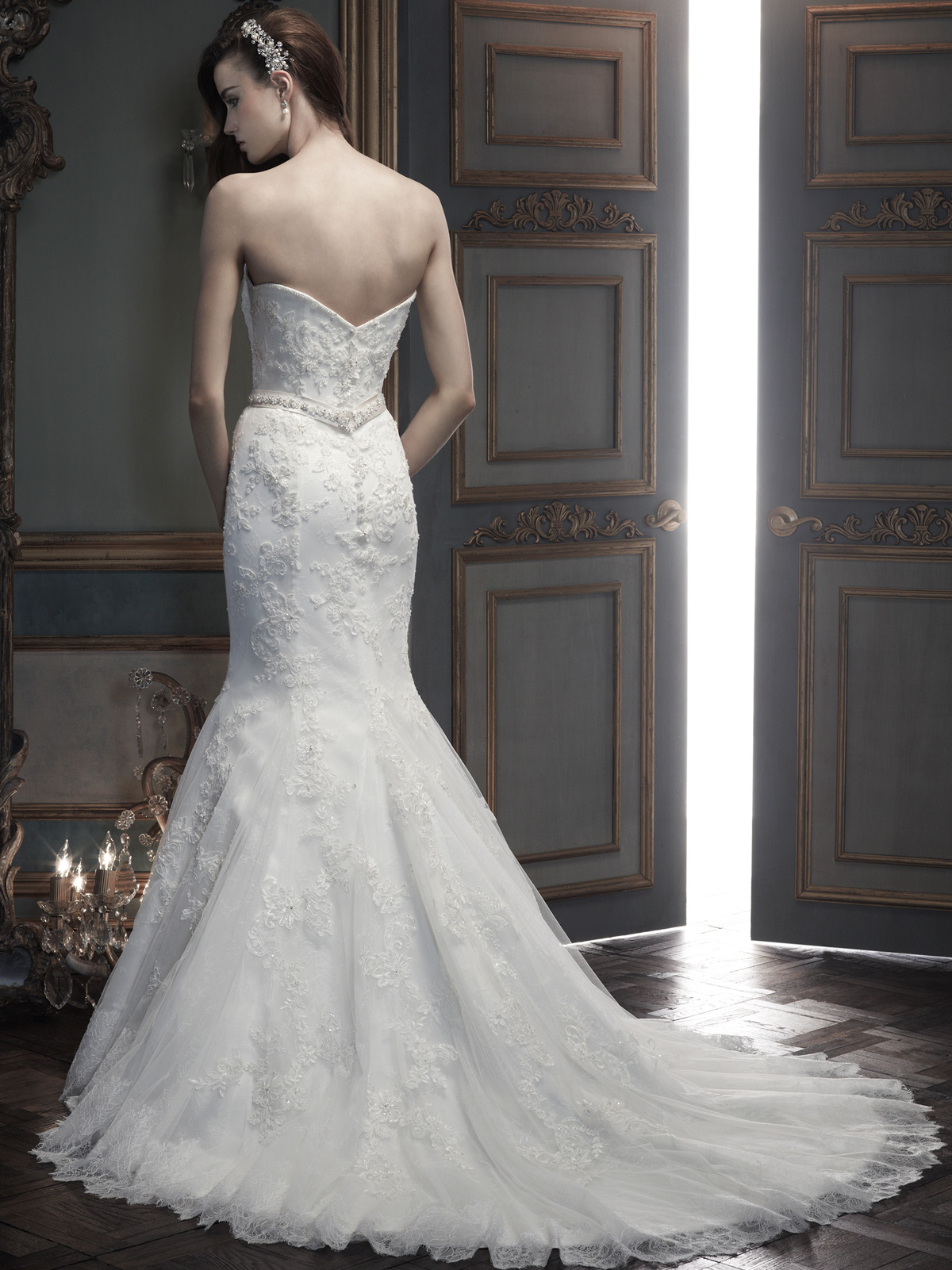 Beautiful Mermaid Bridal Dress Cb Couture