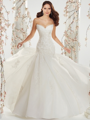 Sweetheart Beaded Lace Bridal Gown Sophia Tolli Cately Y11407