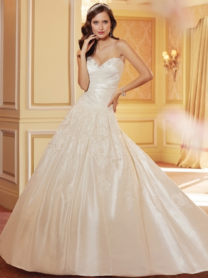 Sweetheart Beaded Lace Bridal Gown Sophia Tolli Myrcella Y11421