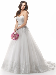 Sweetheart Lace Bridal Gown Maggie Sottero Zendaya