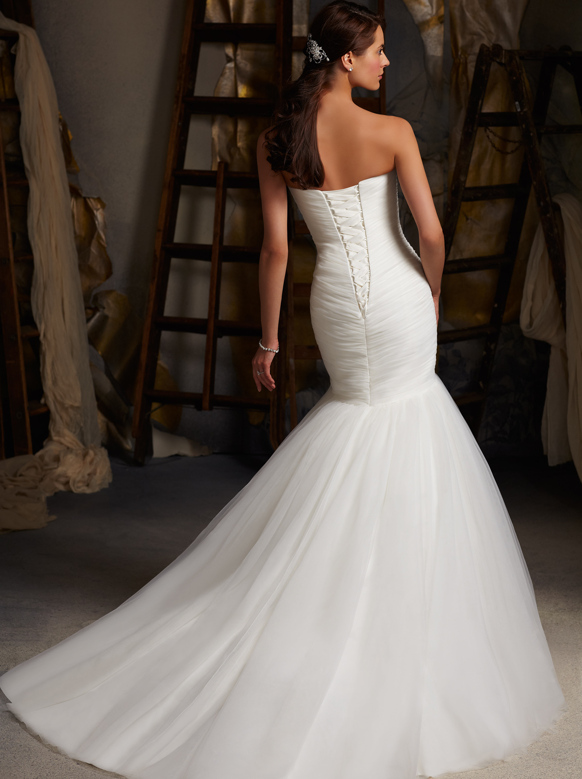 Sweetheart Fit And Flare Mori Lee Blu Bridal Gown 5108 ...