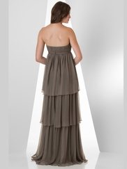 Sweetheart Pleated Bridesmaid Dress Bari Jay 871