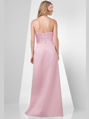 Sweetheart Pleated Bridesmaid Dress Bari Jay 875