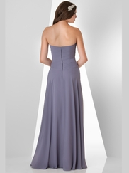 Sweetheart Pleated Bridesmaid Dress Bari Jay 876
