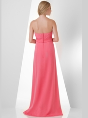 Sweetheart Pleated Bridesmaid Dress Bari Jay 879